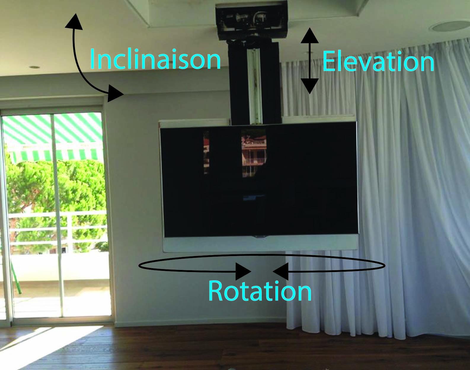 tv plafond motoris free full size of meilleur mobilier et frache meuble tv motorise motoris tv. Black Bedroom Furniture Sets. Home Design Ideas
