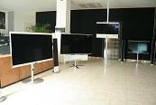 TVs du showroom